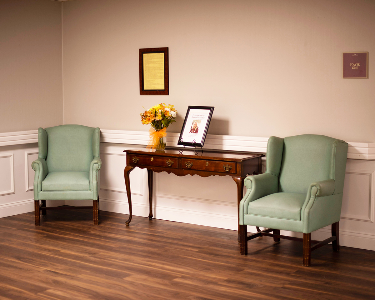 Camino Real Senior Living - Assisted Living Sitting Area