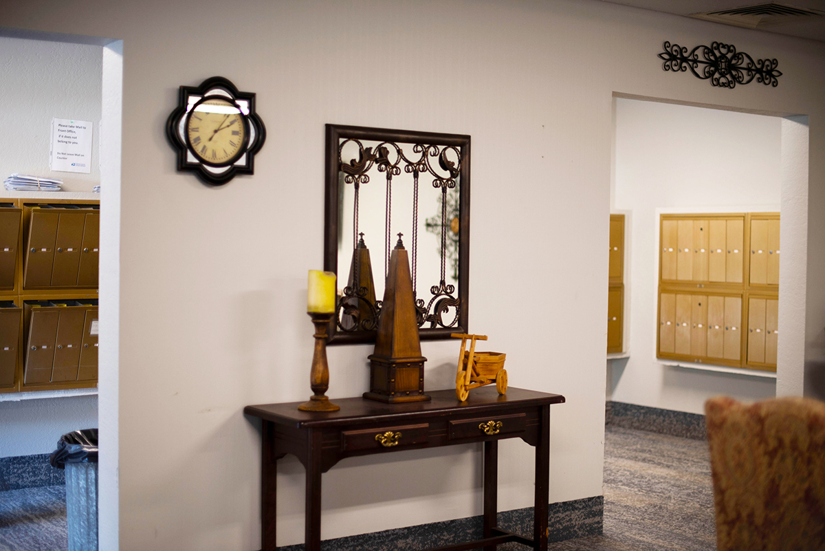 Camino Real Senior Living - Assisted Living Mail Room