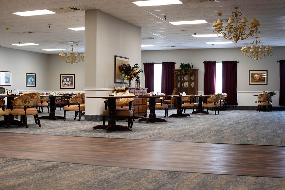 Camino Real Senior Living - Assisted Living Dining Room