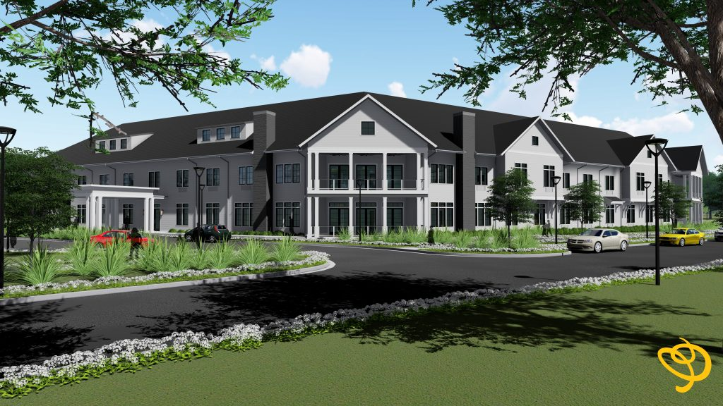 Rendering of the Residence at Oak Grove in Thomasville, Georgia