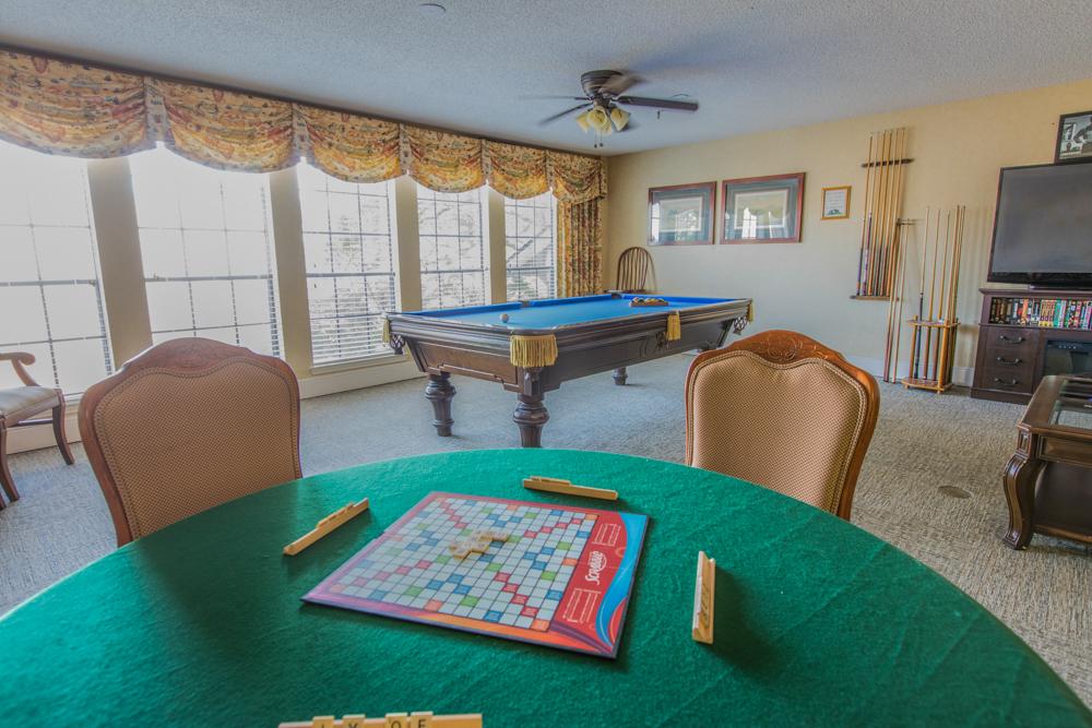 Lakeland Hills Pool room