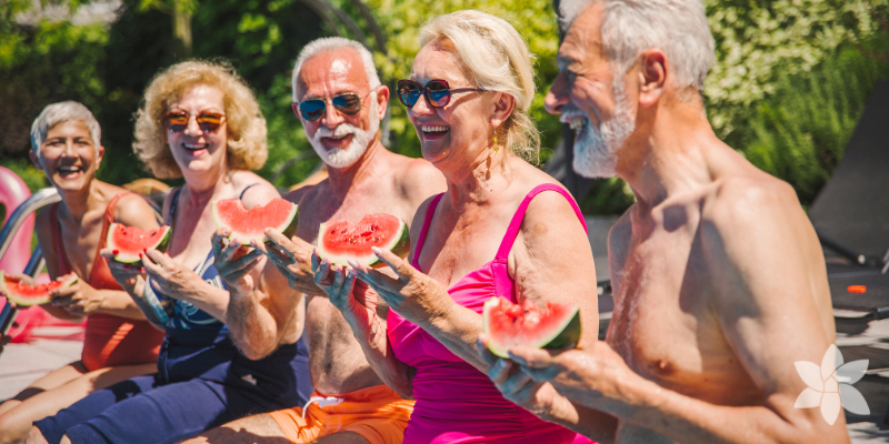 Senior Safety During the Summer Heat - Blog resource by Priority Life Care